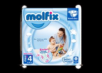 Molfix Maxi Plus Bantlı Bebek Bezi