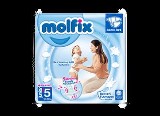 Molfix Junior Plus Bantlı Bebek Bezi