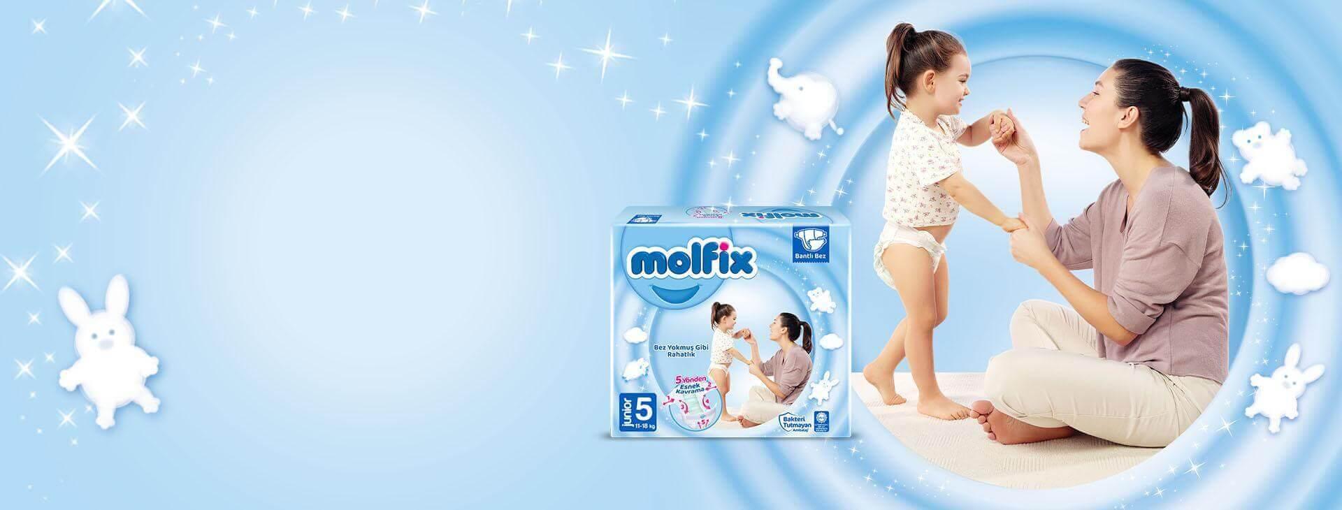 Molfix Junior Bantlı Bebek Bezi