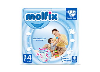 Molfix Maxi Bantlı Bebek Bezi