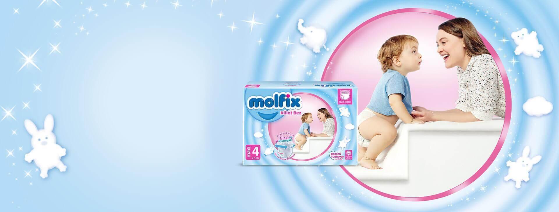 Molfix Maxi Külot Bez