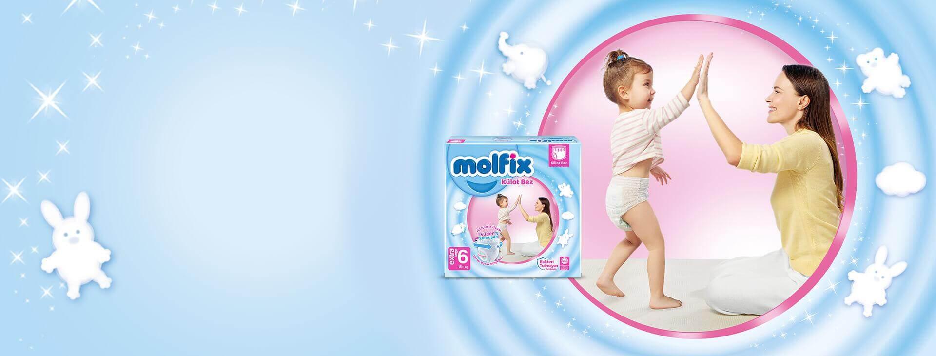 Molfix Extra Large Külot Bez