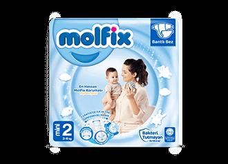Molfix Mini Bantlı Bebek Bezi